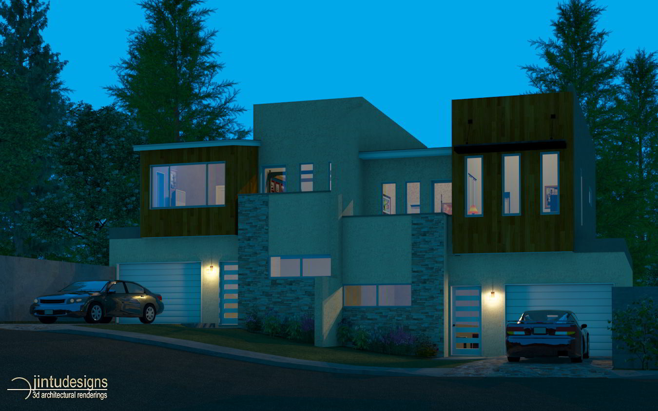 chief architect X5 phoebe night rendering