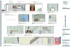 Proposed Interior Elevations Ground Floor