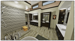 Modern Master Bath - Oregon