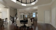 Mediterranean Home Interior View of Breakfast Rotunda.jpg