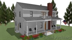 6.1.1 Option 6 - Colonial; Exterior