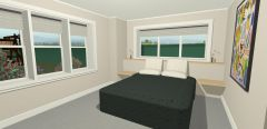 Traditional As Farm Master Bedroom
