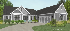 1 Story Shingle Style House.png