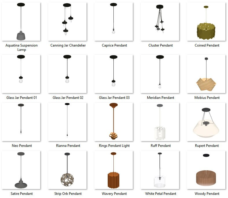Lighting No.03 Pendants