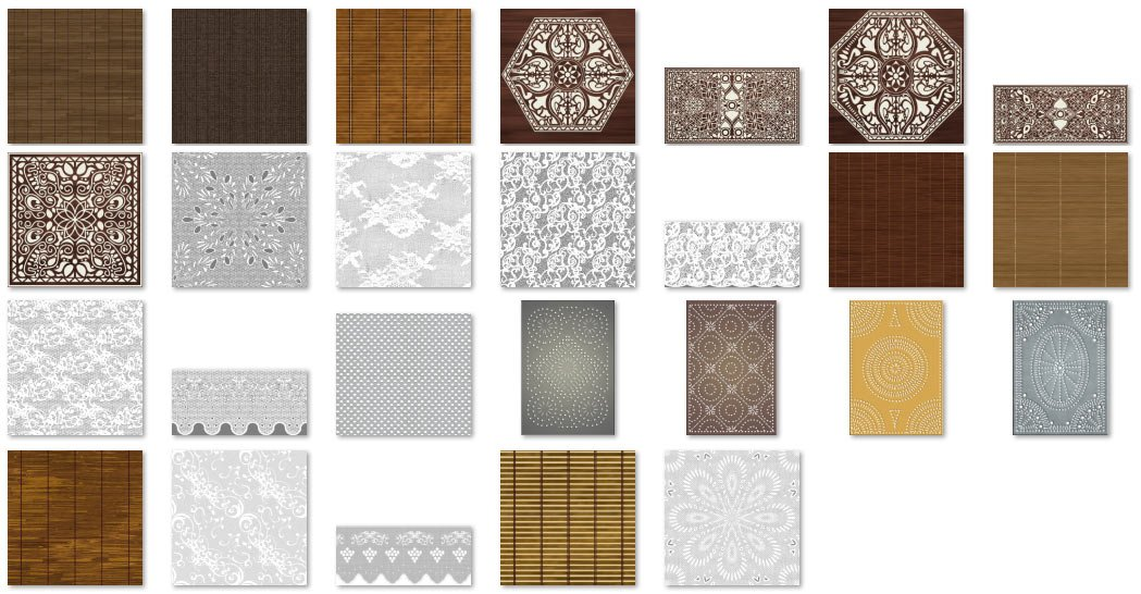 Materials Decorative Finishes