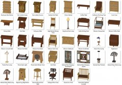 Craftsman Furniture and Accessories