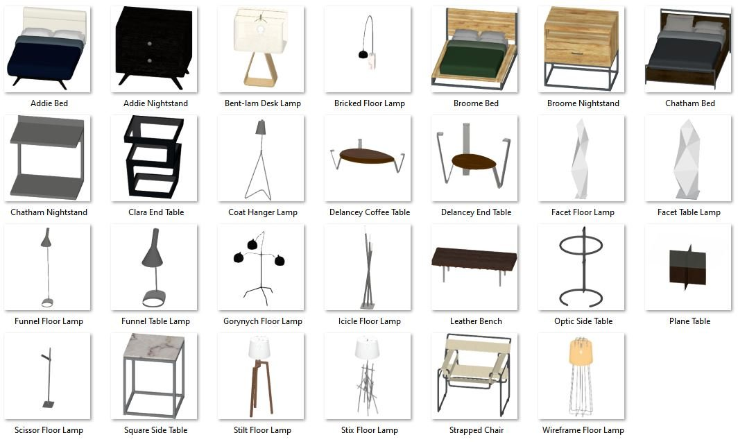 Urban Modern Interior Accessories