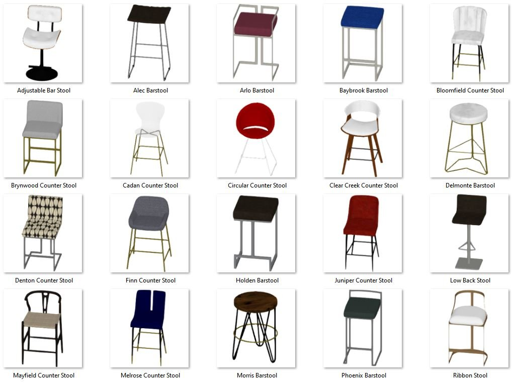 Bar Stools No.3